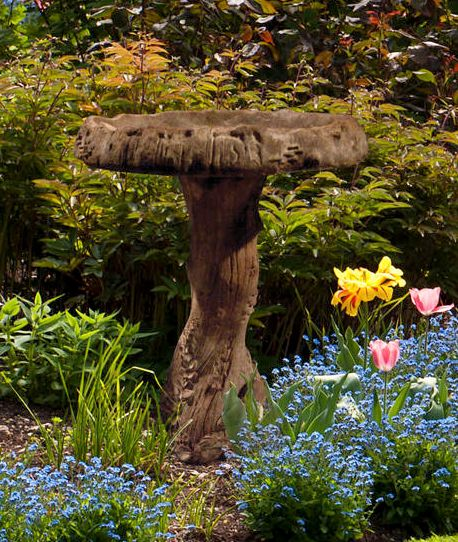 Wildwood Birdbath By Henri Studio