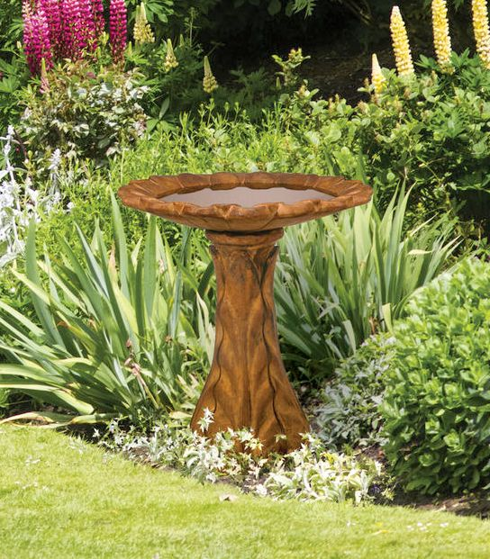 Tapered Petal Birdbath By Henri Studio