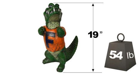 "Florida ""Albert"" College Mascot By Henri Studio. Fully Painted."