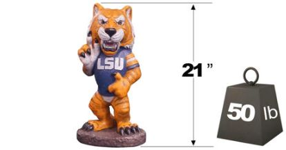 "LSU ""Mike the Tiger"" Mascot By Henri Studio. HT"