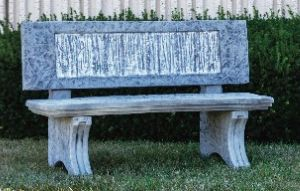 GRAND BIRCH BENCH by Henri Studio