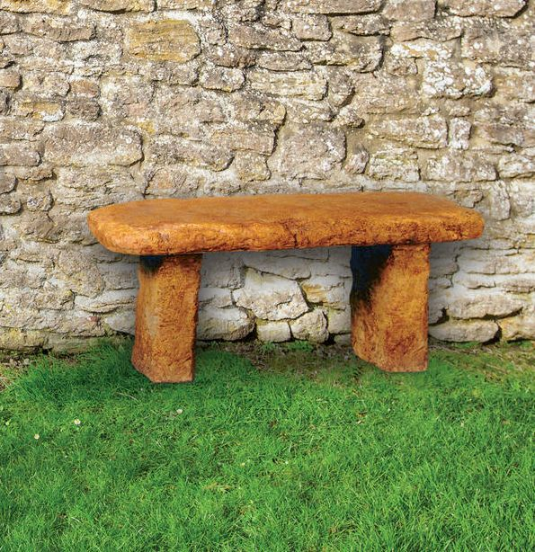 Garden Stone Bench by Henri Studio