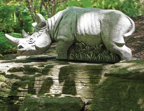 """Hornsby"" the Rhino by Henri Studio"