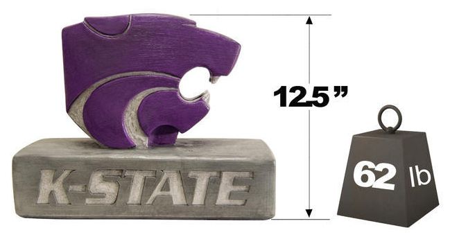 "Kansas State ""Powercat"" Mascot"