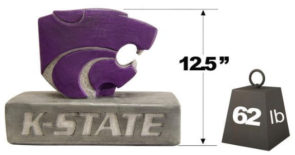 "Kansas State ""Powercat"" Mascot by Henri Studio"