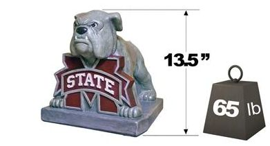 "Mississippi State ""Bully"" Mascot By Henri Studio. Fully Painted"
