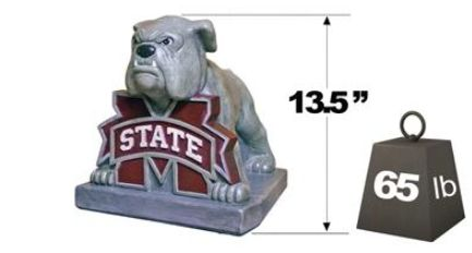 "Mississippi State ""Bully"" Mascot By Henri Studio"