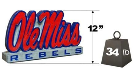"Mississippi ""Ole Miss"" Mascot By Henri Studio"