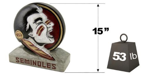 "Florida State ""Seminole"" Logo Mascot By Henri Studio. Fully Pain"