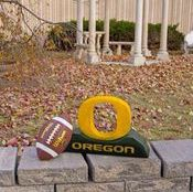 "Oregon ""O"" College Mascot By Henri Studio (Fully Painted)"