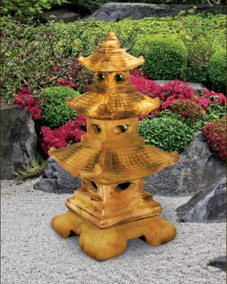 Large Tier Great Pagoda Lantern by Henri Studio