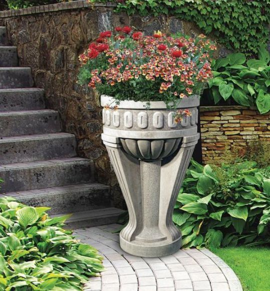 Tall Chalice Planter by Henri Studio