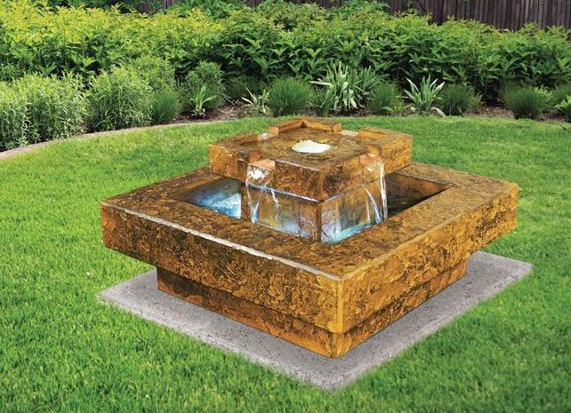 Tahoe Fountain by Henri Studio.