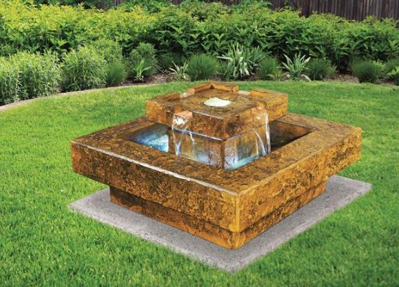 Tahoe Fountain by Henri Studio