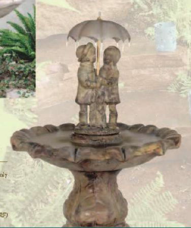 Classic Summer Showers Fountain by Henri Studio