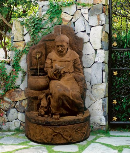 St. Francis at the Well Fountain by Henri Studio