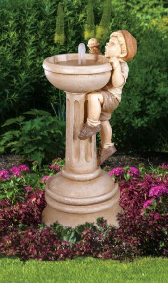 New Willie's Dilemma Fountain by Henri Studio