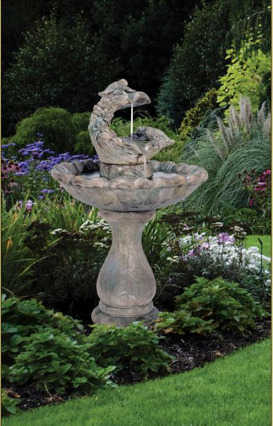 Classic Springtime Fountain by Henri Studio