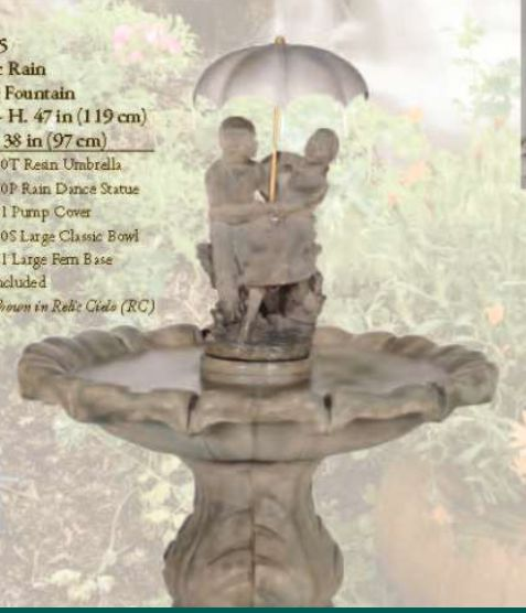 Classic Rain Dance Fountain by Henri Studio