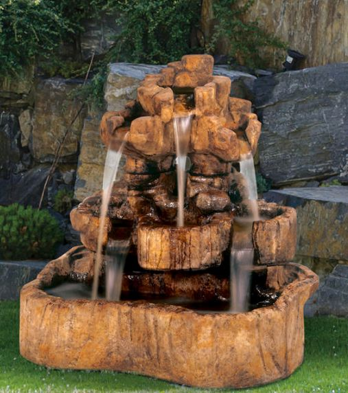 Medium Rock Falls Fountain by Henri Studio