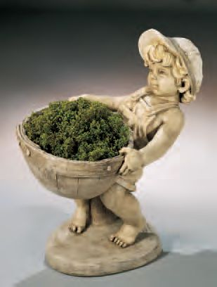 Flower Boy Planter. by Henri Studio