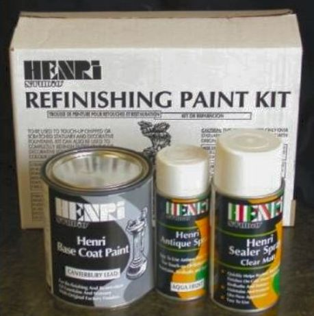 Henri Studio Refinishing Kit (Stone Wash)