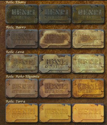 Henri Studio Individual Color Sample Plaques